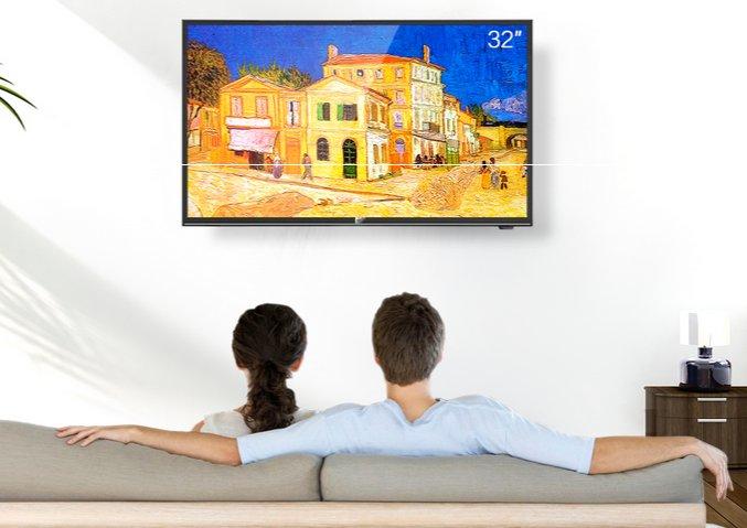 看尚智能电视炫看系列新品526发布 专为卧室设计的32英寸电视