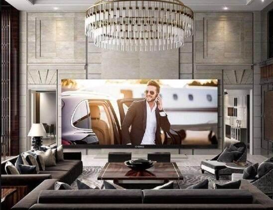 世界最大电视机诞生!262英寸 4K智能电视价值53.9万美元