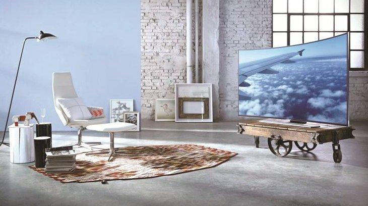电视品牌转型高端化 曲面电视销量剧增