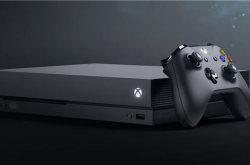 微软Xbox One X11月上市 售价499美元