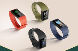 米粉节正式推出Redmi手环:售价95元/四种配色/一体式充电
