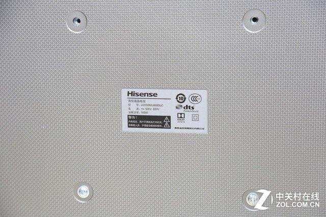超薄曲面+金属丝印 海信MU8600电视赏析 众测 第13张