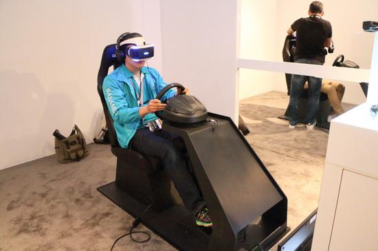 无限接近真实驾驶感受!索尼PS VR赛车游戏年