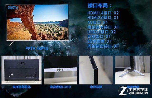 小米、微鲸、PPTV、看尚哪个好?四款互联网电视评测对比