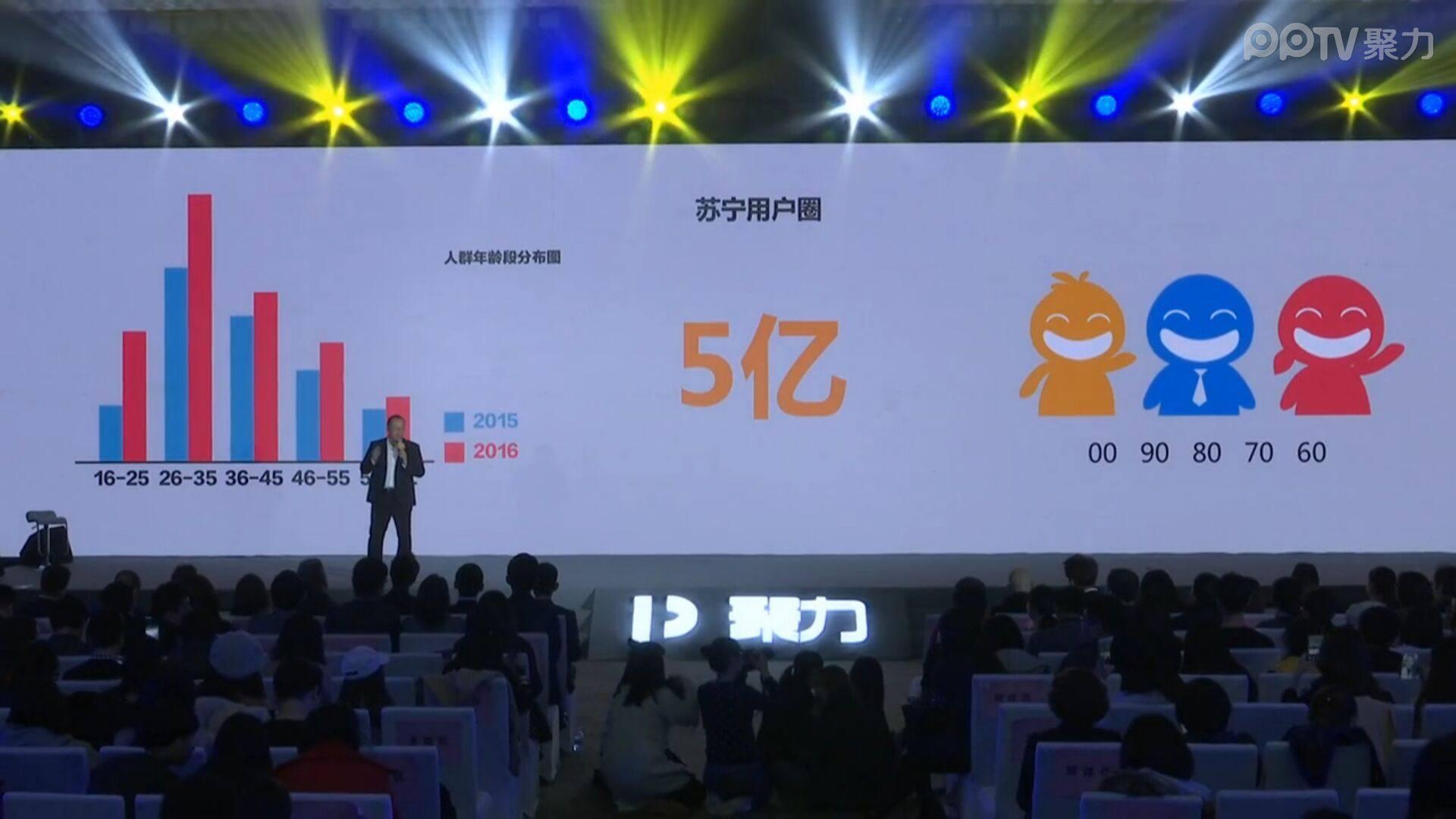 聚力2017战略发布会 苏宁宣布投资当贝市场