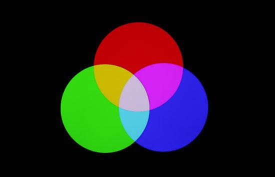 某液晶电视-三原色
