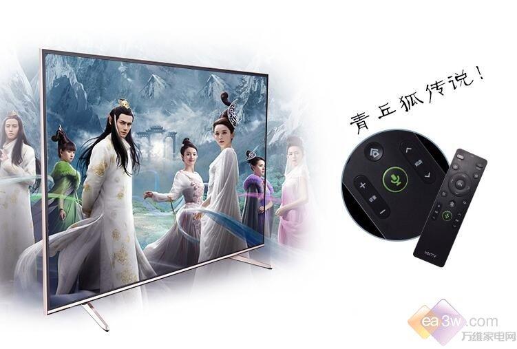 65吋智能电视推荐 用KKTV U65组建大屏影院 众测 第1张