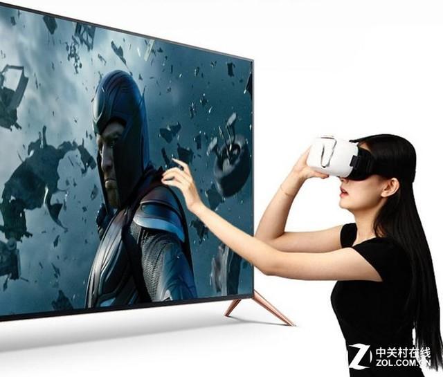 全球首款VR电视暴风TV50寸VR视频简评|电视暴风隔壁老王图片