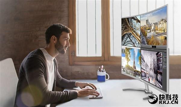 5470元!飞利浦全球最大40寸4K曲面显示器开卖