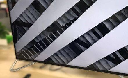 雷鸟电视外观曝光:黑白棱格 艺术气息浓厚