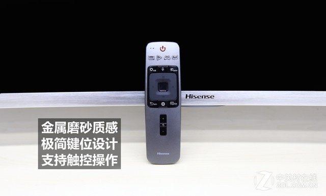海信EC880新品电视首测 搭载ULED超画质技术 简约大气