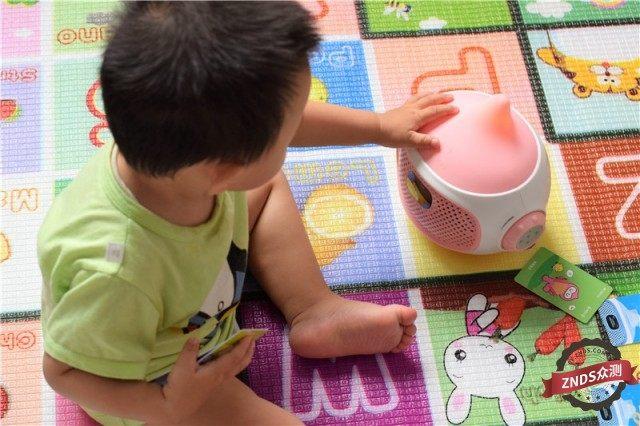 【ZNDS众测】智能安全 女儿早教好伴侣:比巴早教机器人体验