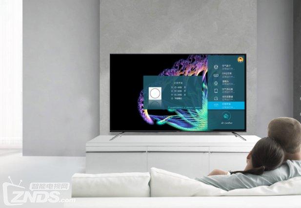 人工智能电视热闹景象过后,下一个出风口是全面屏?