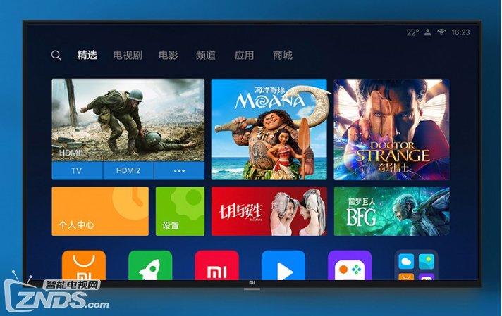 小米电视4C系列新品上市 人工智能1元预约2099元起