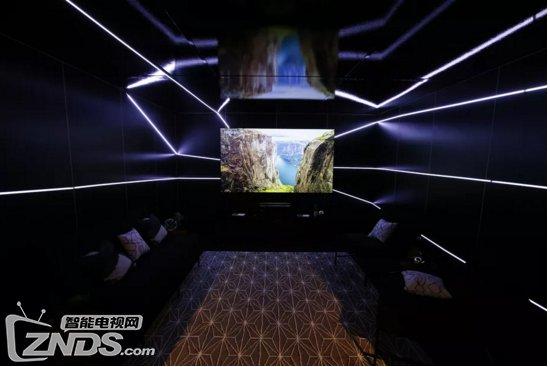 海信新发布100英寸4K激光电视 搭载智能电视界面 售9999美元