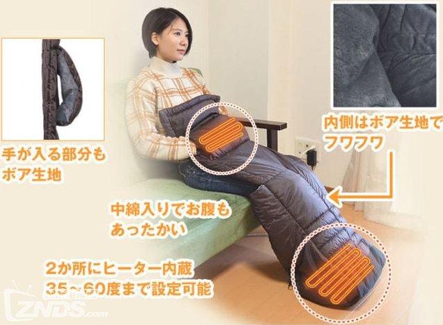 日本再现神脑洞:单身狗必备电热毯售价408人民币