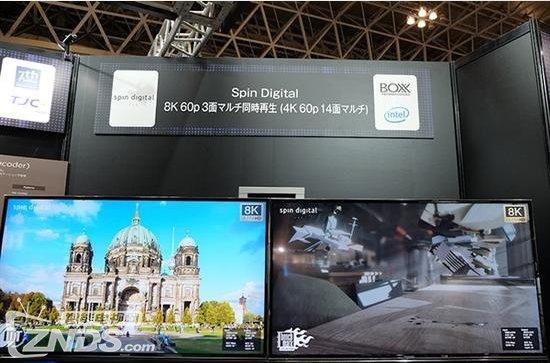 日本展示8K 120Hz视频 24核CPU也处于高负载状态