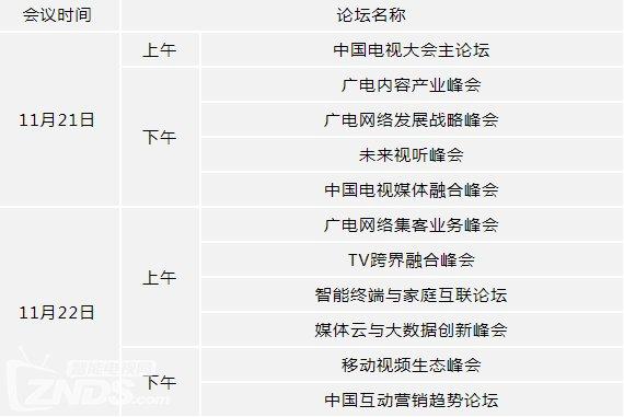 """第三届""""世界电视日""""中国电视大会于京举办"""
