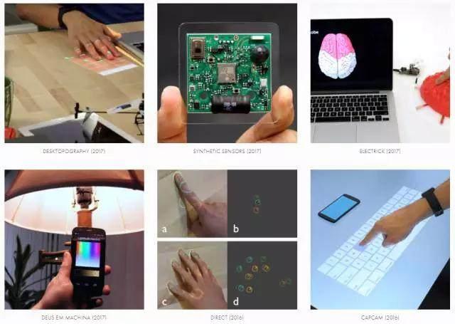 Desktopography:一款很酷很有未来感的黑科技投影设备