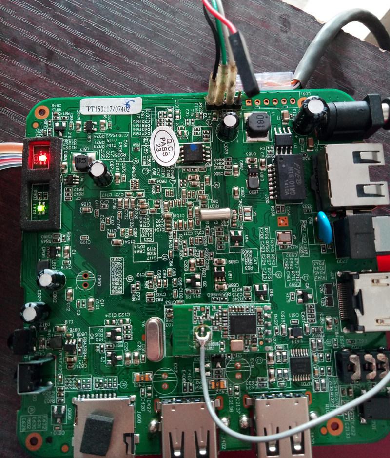 电信百视通红盒子R1229 AA180拆机破解安装软件教程