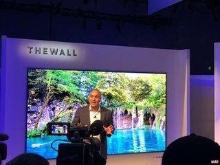 """2018CES三星模块化电视""""The Wall""""正式发布 146英寸巨幕"""