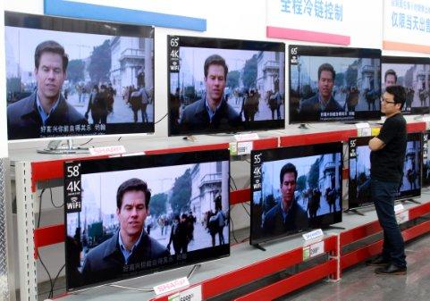 2017彩电销量下滑 下一代显示技术能否扭转局面?