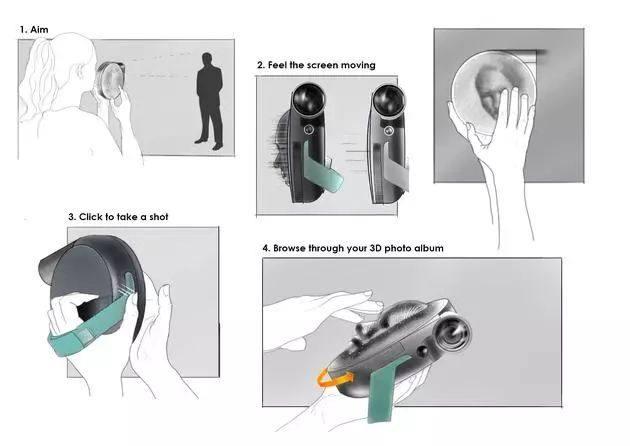 为盲人设计的触觉相机 3D触摸影像帮助盲人了解这个世界