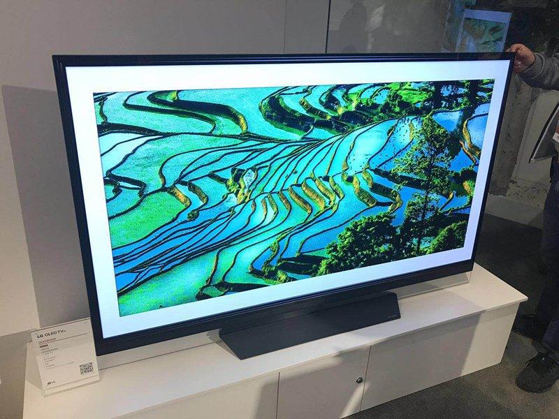 2018AWE现场直击:LG Prime UHD TV新品携黑科技亮相