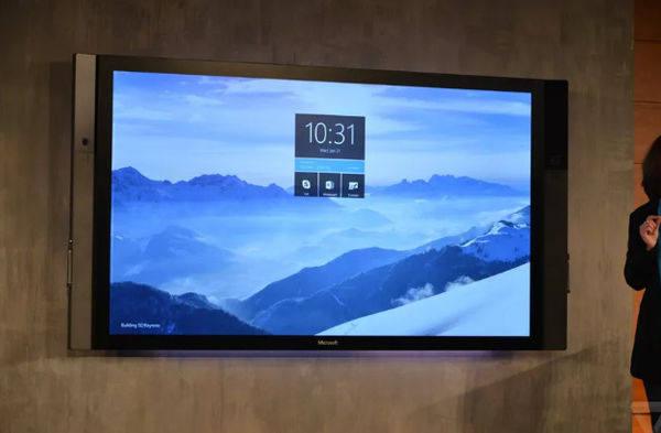 微软Surface Hub 2将于今年上半年发布