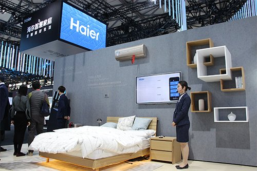 海尔现场体验4大空间 3大平台赋能智慧成套方案