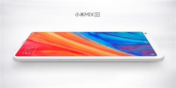 小米MIX 2S真机图曝光:完整内置小米AI音箱能力