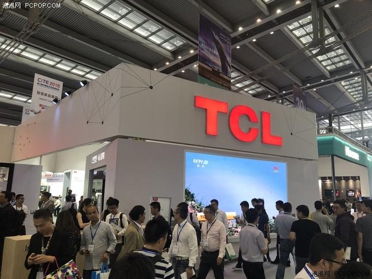 TCL携全矩阵新品亮相CITE 2018
