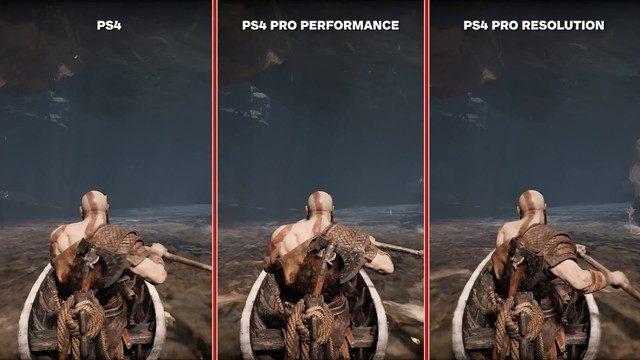 <战神4>PS4与PS4 Pro画面对比:令人失望