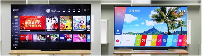 高端OLED电视终极PK 索尼A8F对决LG E7P