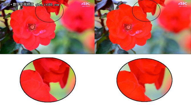 画质实测对比
