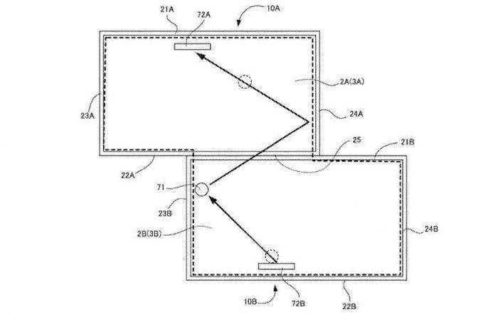 任天堂多屏拼接专利曝光:多块屏幕共同游戏