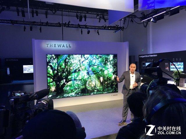 三星Micro LED电视8月发售 价格不低于188万元