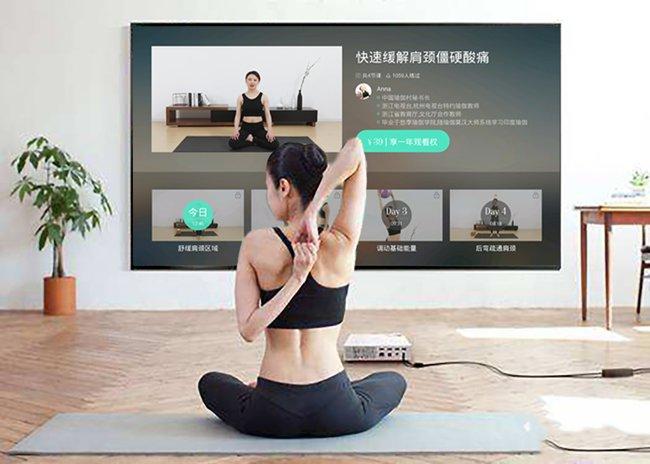 大屏+健身冲击健康新生态,《氧气瑜伽》在当贝市场首发上线