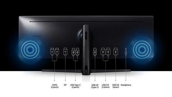 三星发布超宽曲面显示器C49189:享受49寸32:9影院级体验