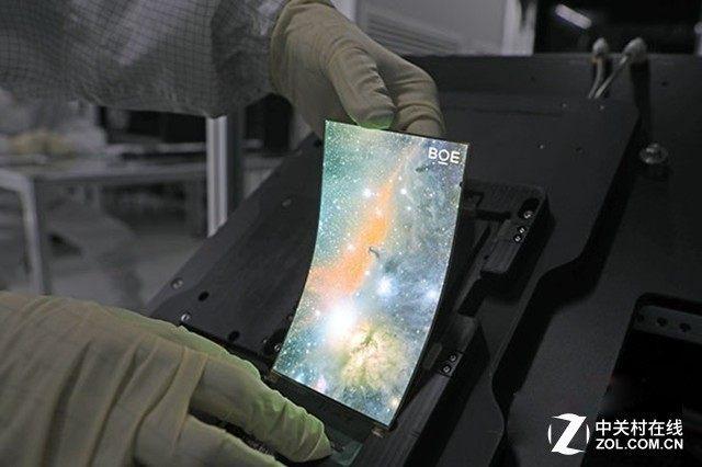 2022年国产OLED屏幕市场规模将超越三星、LG等韩系厂商