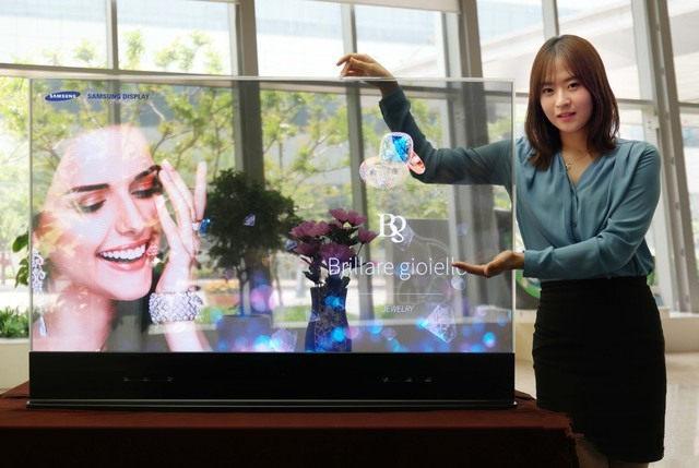 三星透明OLED屏幕曝光 已申请屏幕开孔的专利