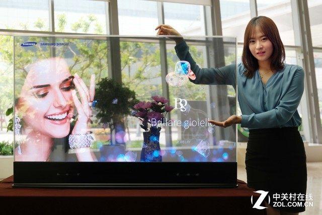 三星透明OLED显示屏最快于2019年落地实现