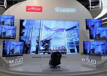 创维4K电视销售量较去年同期增加8% 透露彩电业回暖信号