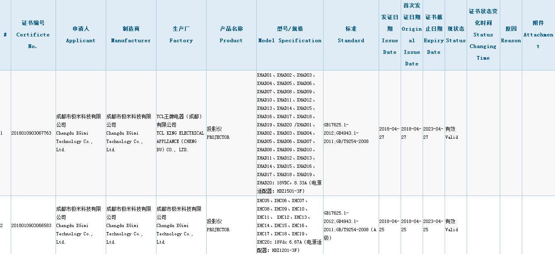 极米515春季新品发布会 年度重磅级新品极米H2或现身