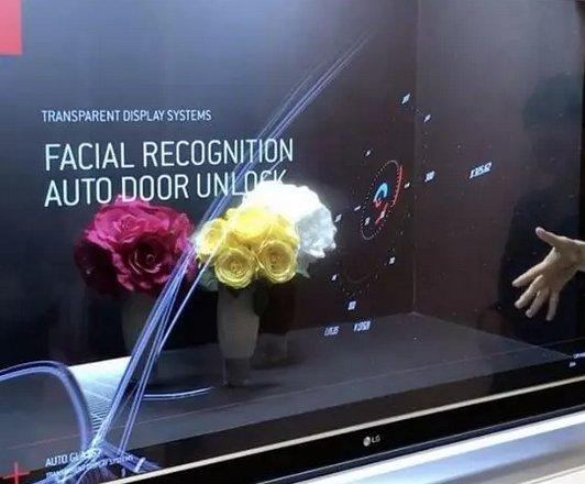 惊艳万分!再秀黑科技!LG透明OLED电视真机了解一下!