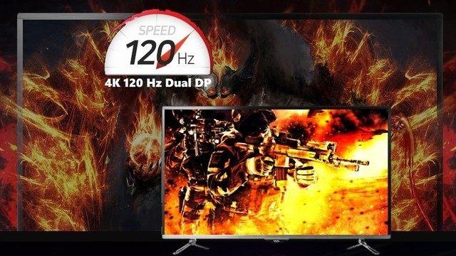 能当电视的显示器!韩厂推出43吋4K/120Hz显示器