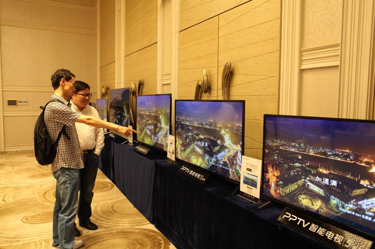 PPTV智能电视构建内容 力求超越小米电视