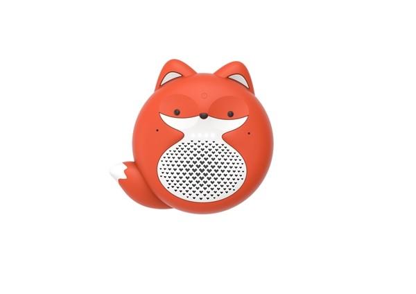 外型萌翻!出门问问发布小问音箱儿童版TicKasa Fox