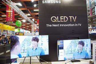 2018年三星高端QLED电视出货量将大幅增长 预计超4000万台