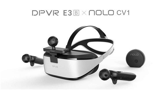 VR门槛再降!大朋DPVR×NOLO解锁VR交互新姿势